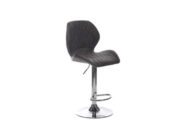 Барный стул B-11 – цвет серый – картинка – фото товара 2