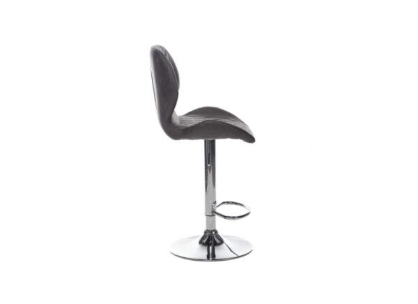 Барный стул B-11 – цвет серый – картинка – фото товара 3