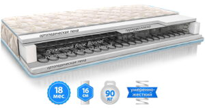 Матрас ЭКО 32 - купить качественный и недорогой матрас в Украине - фото - картинка товара 1