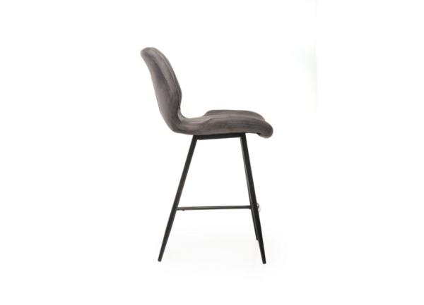 Полубарный стул B-19 – цвет серый – купить в Украине – картинка – фото товара 2