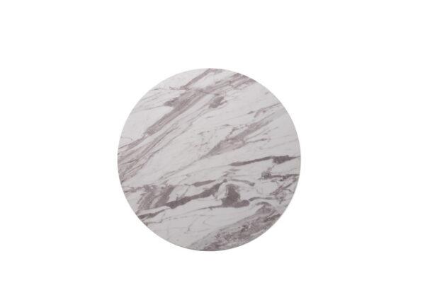 Стол барный BT-01 – (белый мрамор + черный) - картинка - фото товара 4