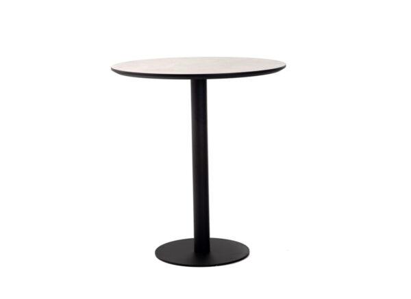 Стол барный BT-01 – (бетон + черный) - картинка - фото товара 1