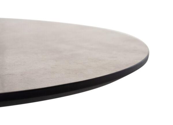 Стол барный BT-01 – бетон + черный) - картинка - фото товара 3